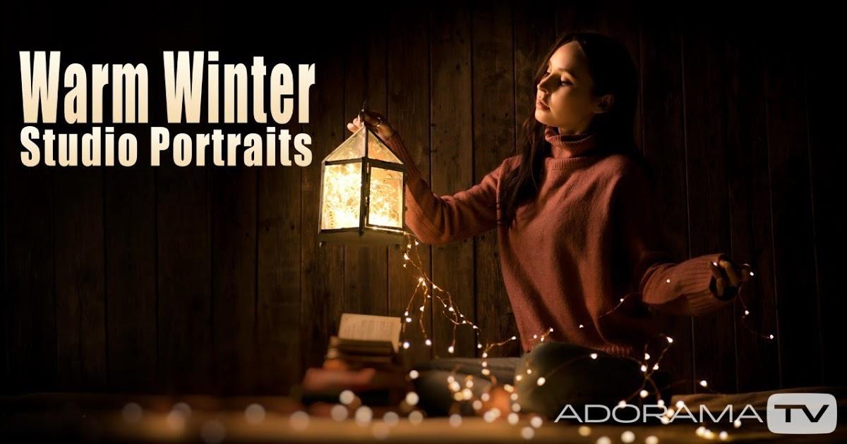 Retratos de estudio para el invierno por Gavin Hoey - Blog Consejos de fotografía