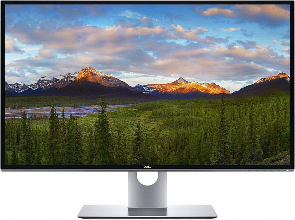 El monitor Ultrasharp UP3218K de Dell de 31,5 pulgadas y 8K para la edición de fotografías