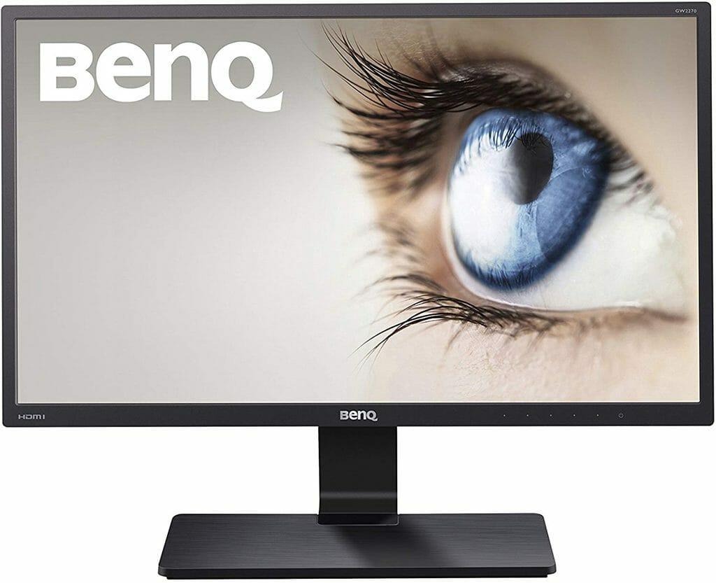 El monitor BenQ GW2270H de 21,5 pulgadas para la edición de fotos