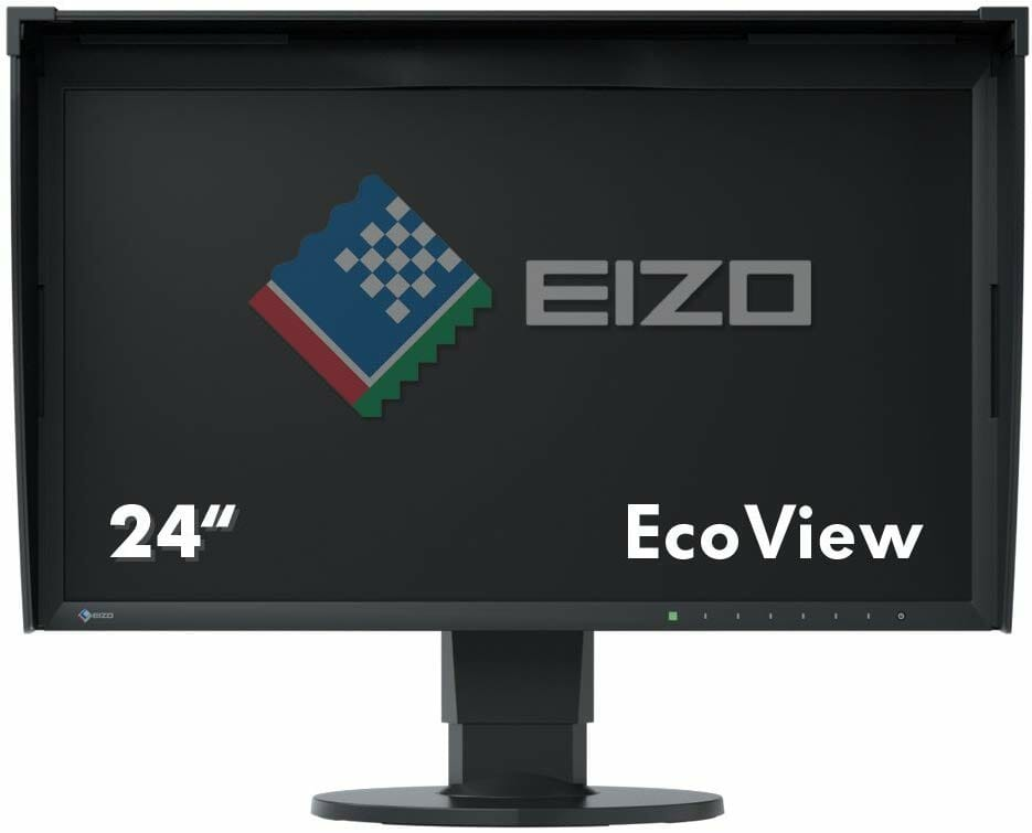 El monitor Eizo ColorEdge CG248-4K de 23,8 pulgadas para la edición de fotografías