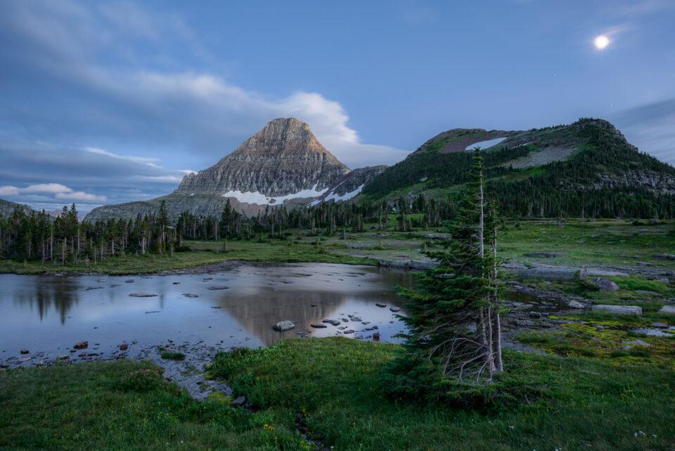 Parque Nacional de los Glaciares de la Hora Azul