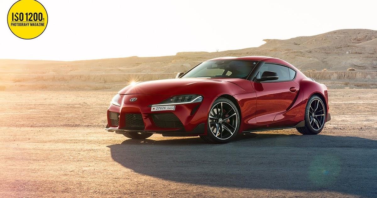 Edición de la foto del Supra MK5 en Photoshop - Consejos de fotografía en el blog