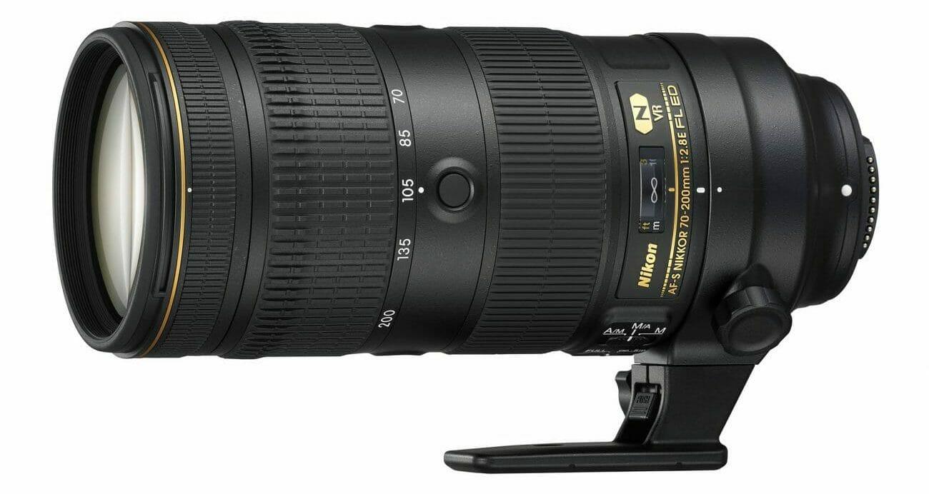 El teleobjetivo Nikon AF-S NIKKOR 70-200mm f2.8E FL ED VR