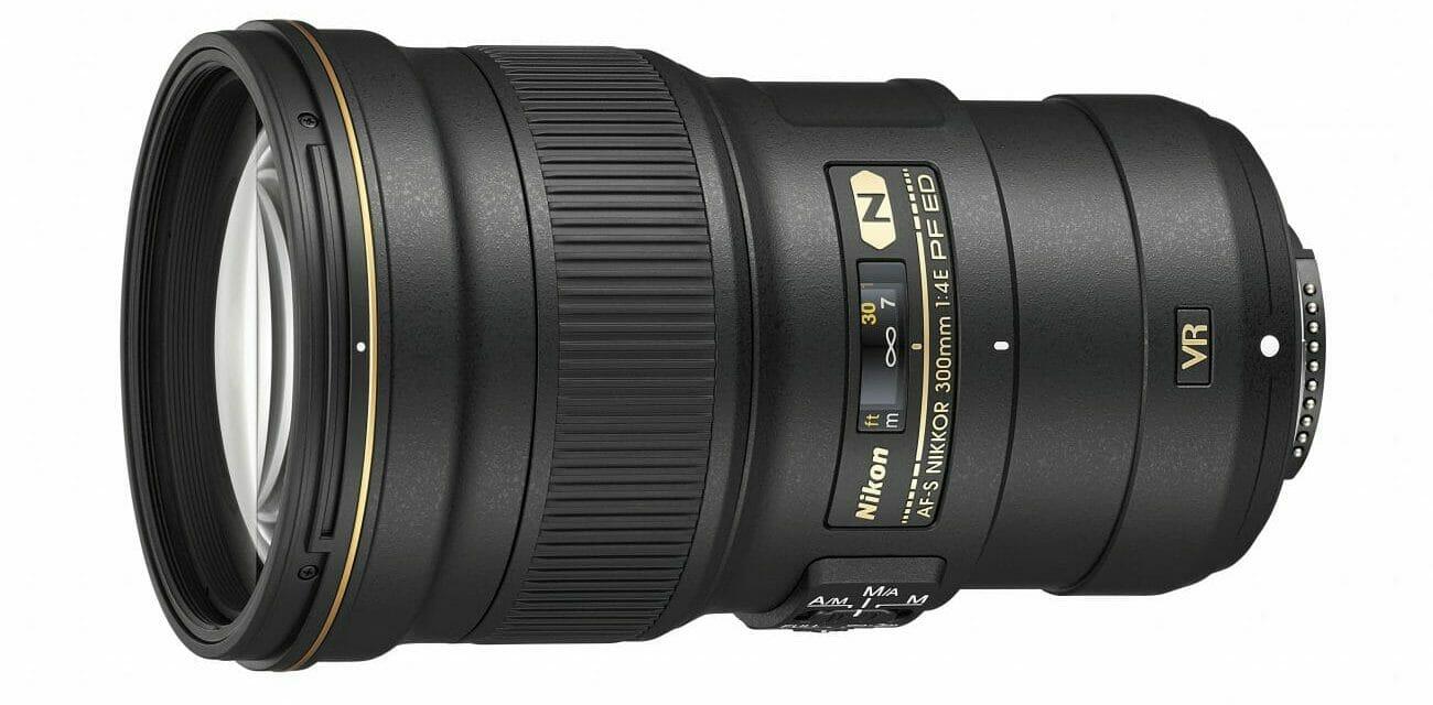 El objetivo Nikon AF-S NIKKOR 300mm f4E PF VR EF-S ED-IF
