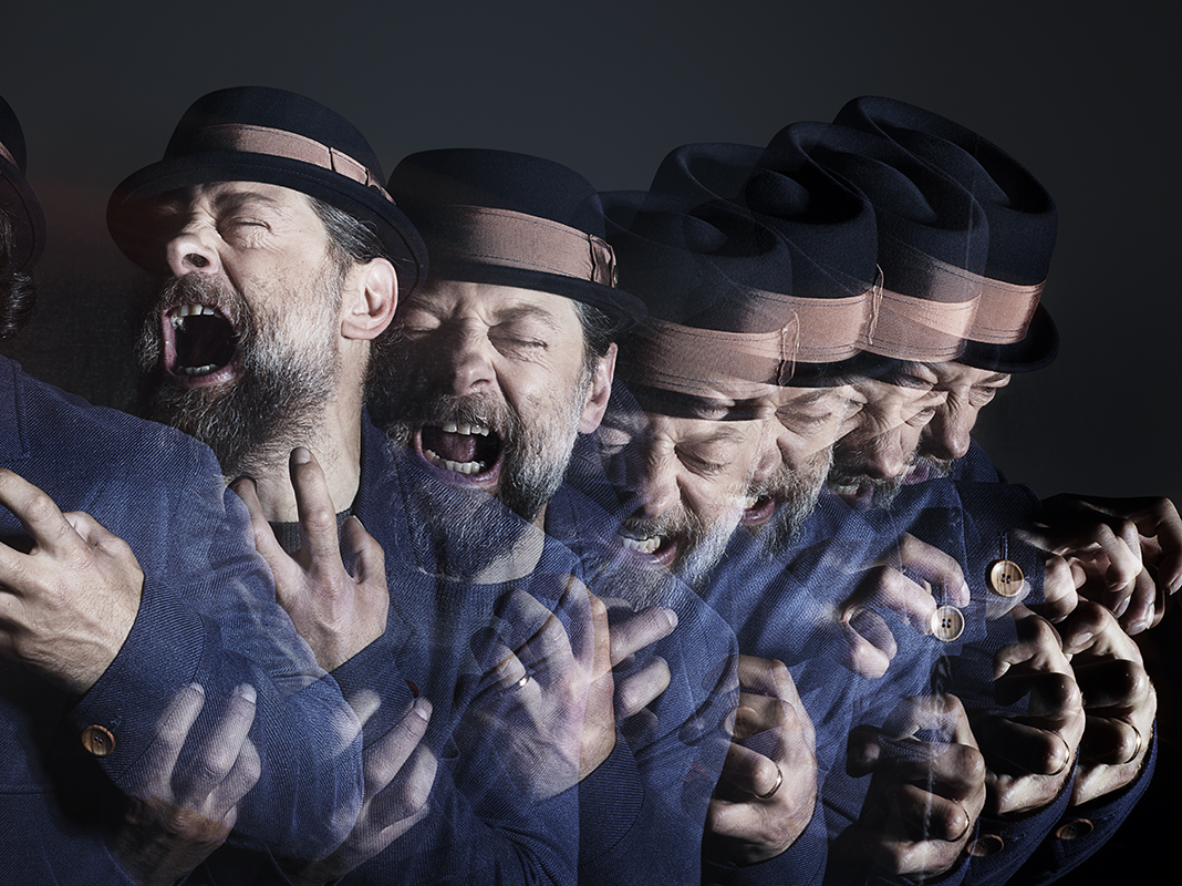 Retrato del actor Andy Serkis por Rankin