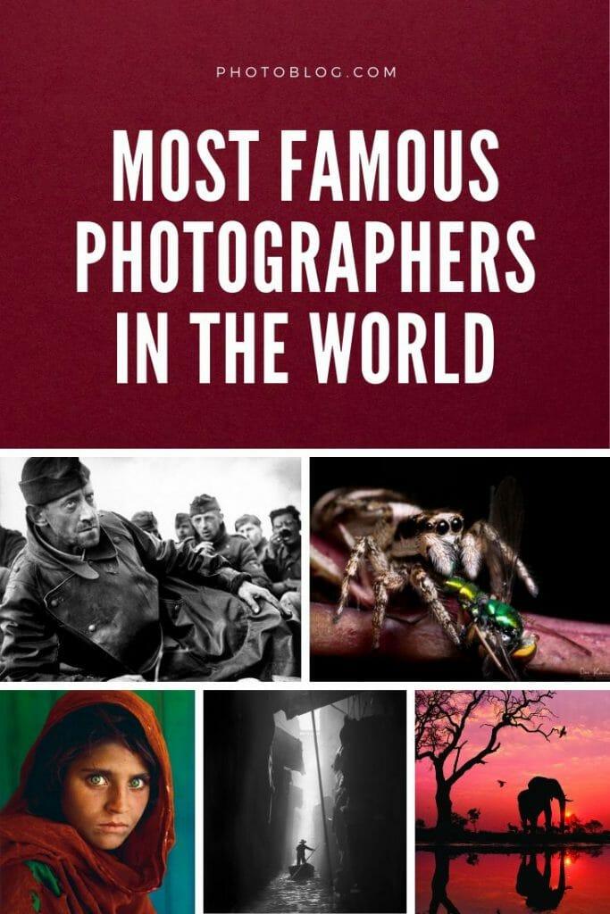 Imagen de interés para fotógrafos famosos artículo