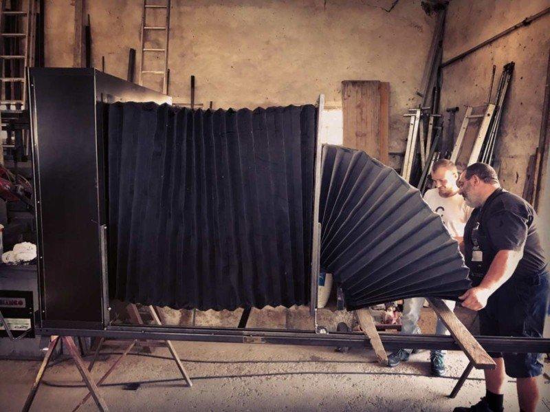 Una cámara gigante que disparará la diapositiva más grande jamás hecha