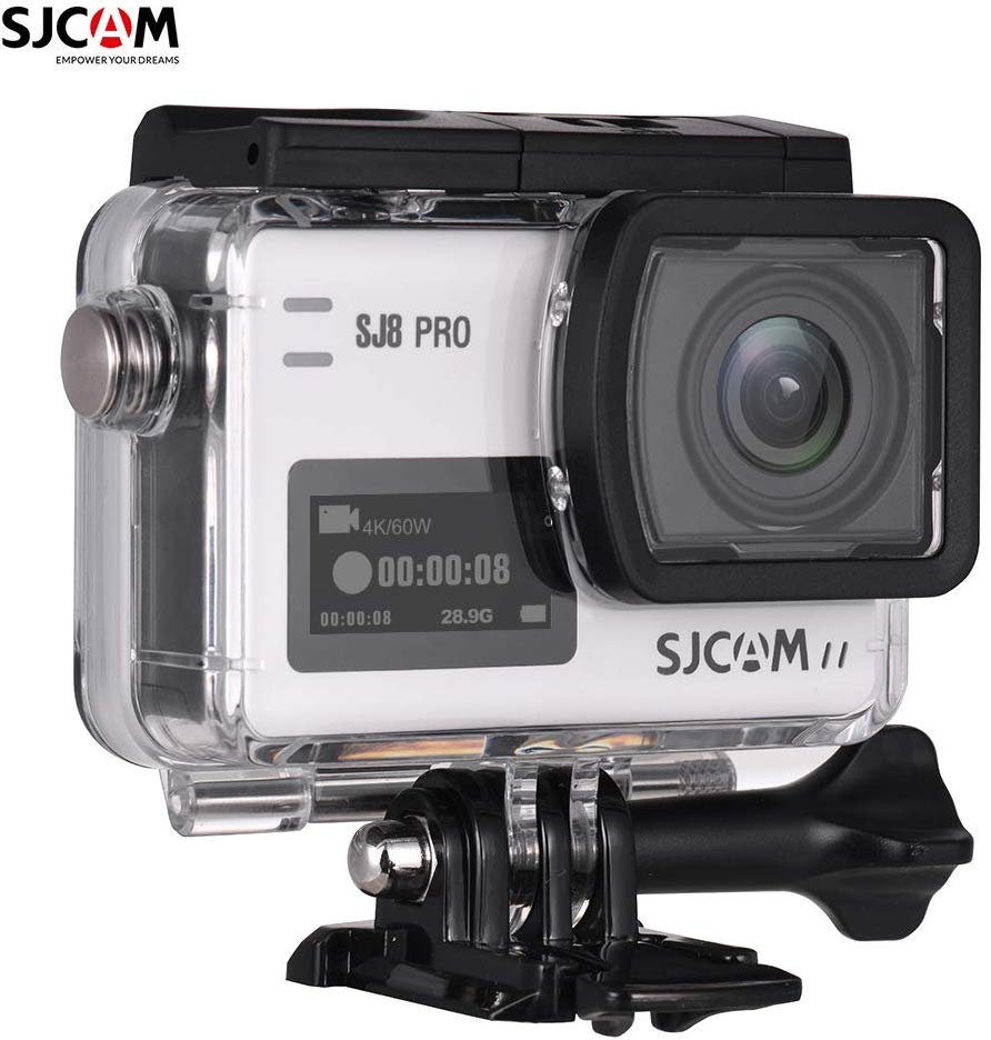 La cámara de acción SJCAM SJ8 Pro es una gran alternativa GoPro para los principiantes.