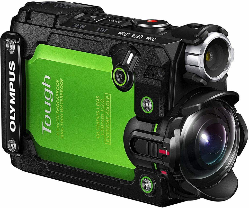 La cámara de acción Olympus TG-Tracker es una gran alternativa GoPro
