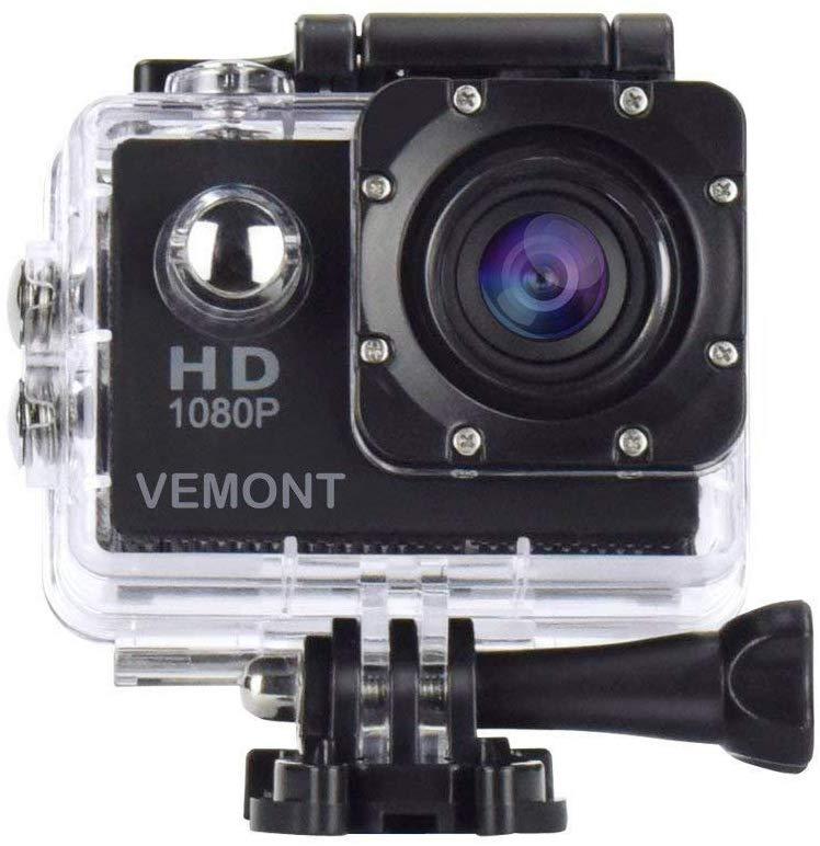 La Vemont Action Camera es una gran alternativa a la GoPro
