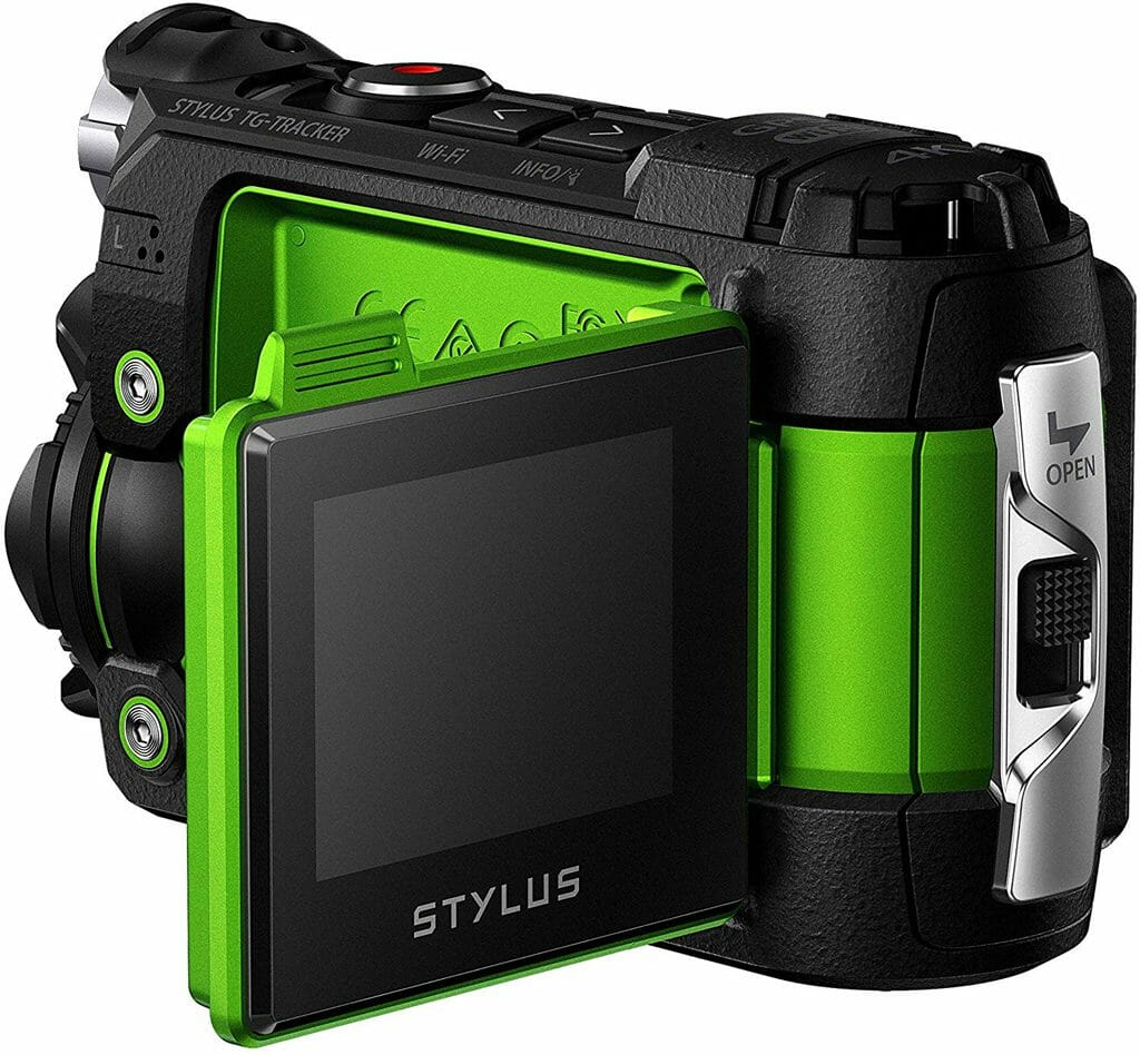 La cámara de acción Olympus TG-Tracker