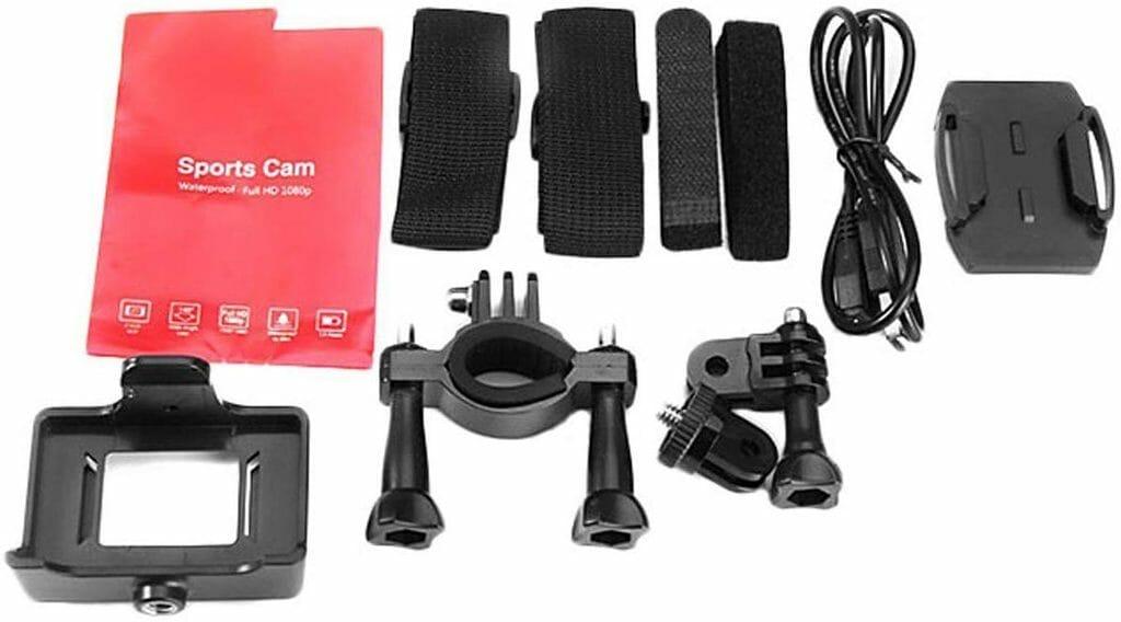 La gama de soportes disponibles para la Vemont Action Camera