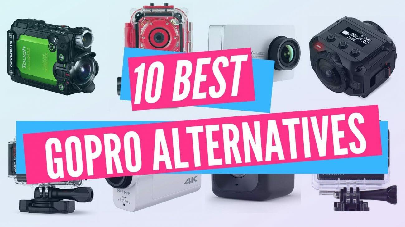 Las 10 mejores alternativas de GoPro en el 2019