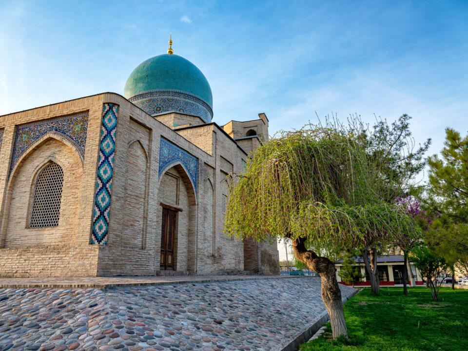 Conjunto de imanes de Khast en Tashkent, Uzbekistán