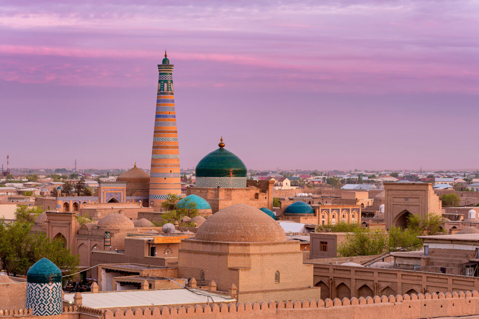 Ichan Kala, Khiva, Uzbekistán