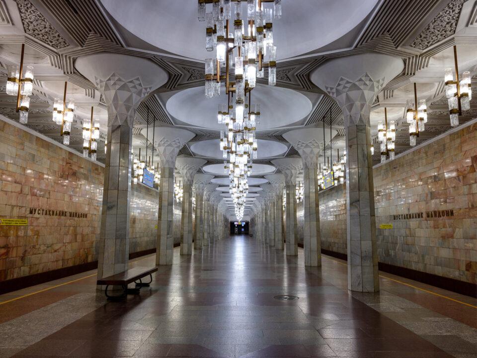 Estación de la Plaza de la Independencia del Metro de Tashkent