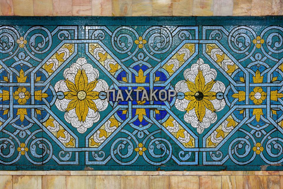 Estación Pahtakor del Metro de Tashkent