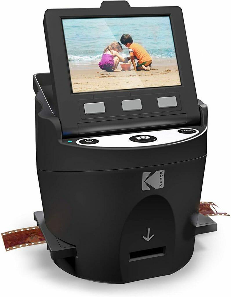 El escáner de fotos Kodak Scanza