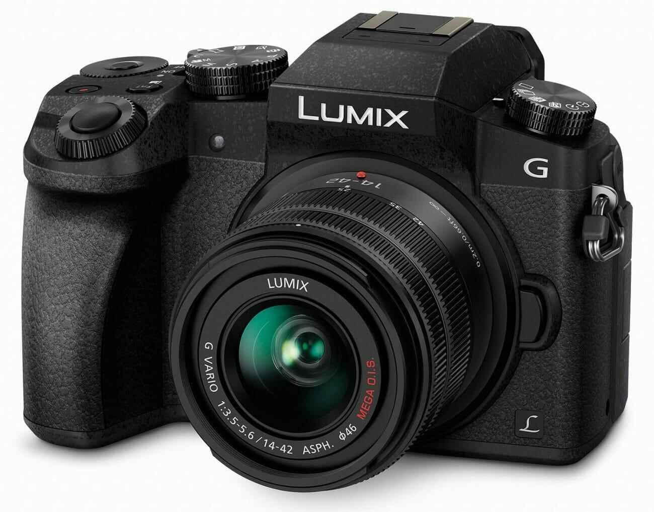 La cámara Panasonic Lumix G7