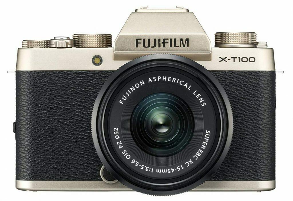 La cámara Fujifilm X-T100
