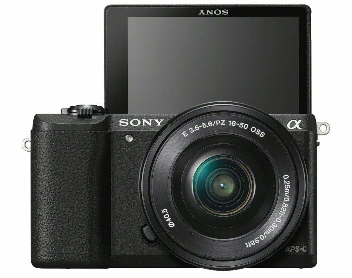 La cámara Sony Alpha a5100