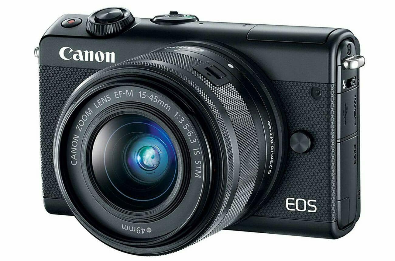 La cámara Canon EOS M100