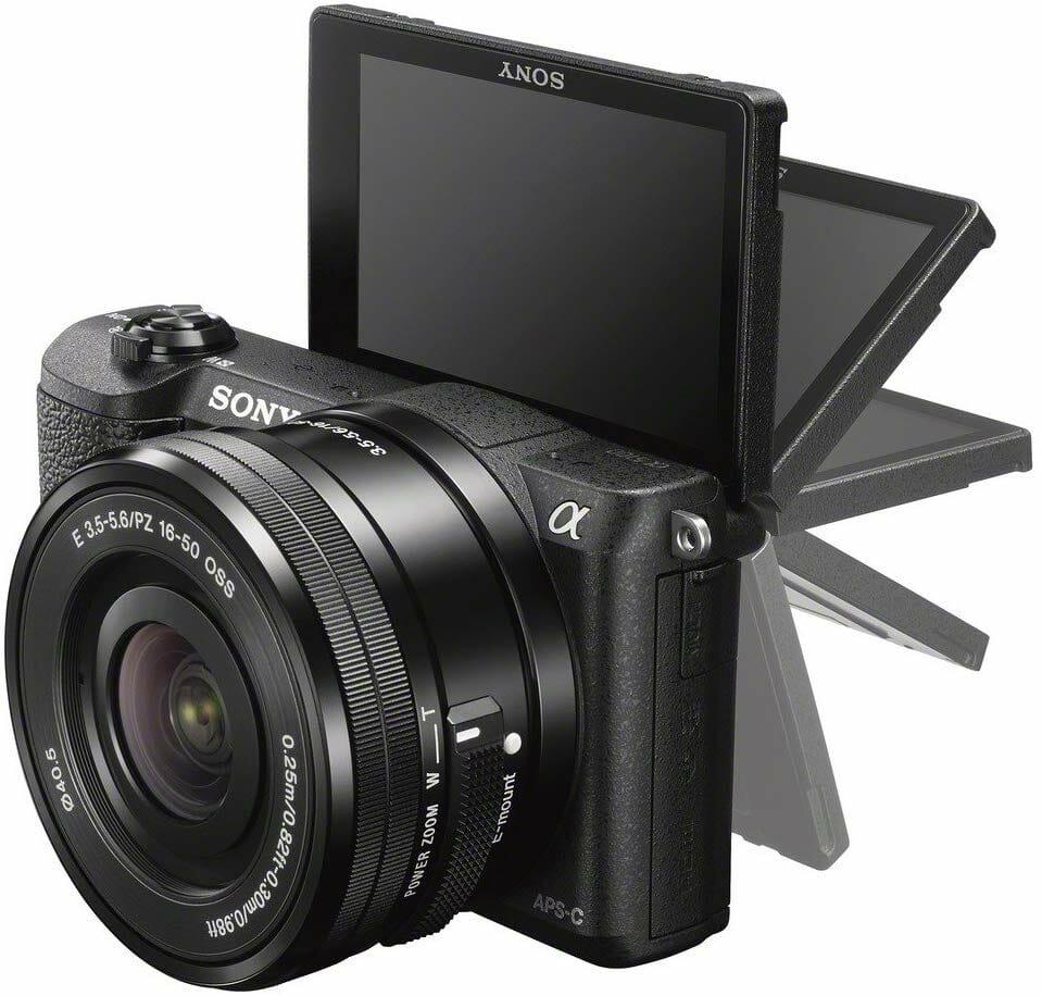 El Sony Aplha a5100 y su pantalla LCD inclinada