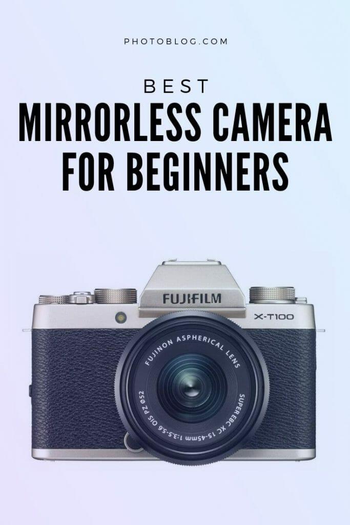 Imagen de interés para la cámara sin espejo para principiantes artículo