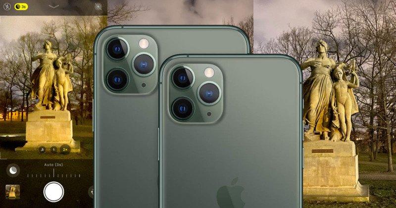 El modo nocturno del iPhone 11 Pro no es lo que podrías pensar