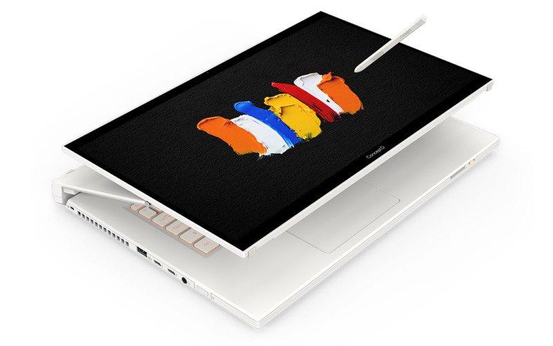 """Acer presenta el portátil ConceptD 7 Ezel """"transformador"""" con soporte para lápices Wacom y 100% Adobe RGB"""