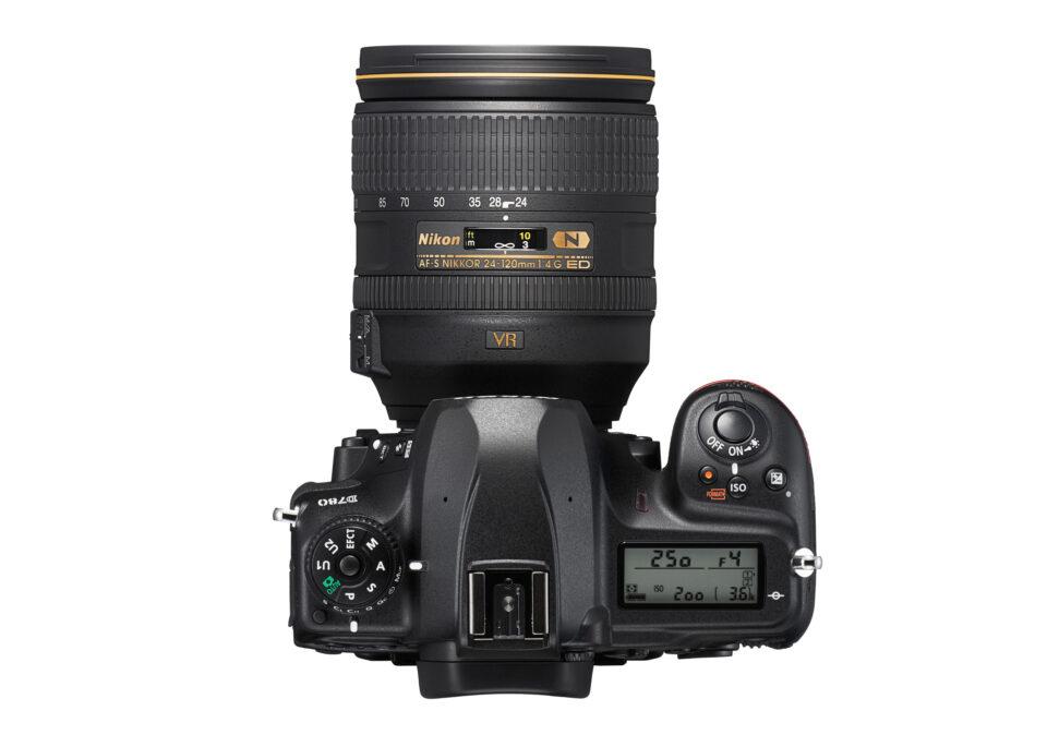 Nikon D780 Top