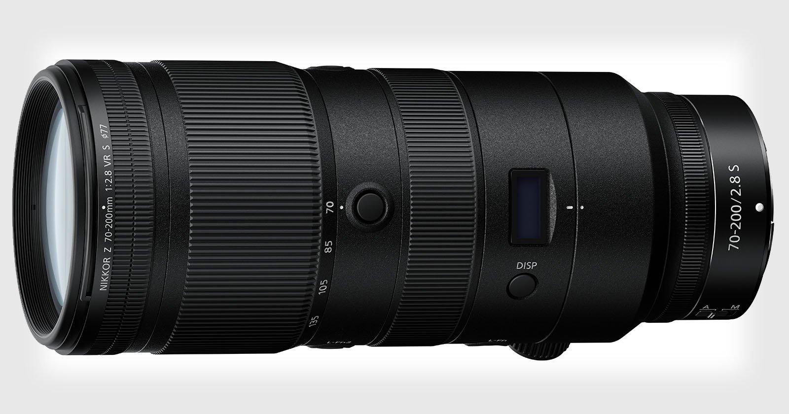 El nuevo Z 70-200mm f/2.8 VR S de Nikon es el primer lente FF Z estabilizado
