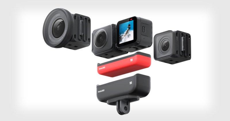 Insta360 presenta la cámara de acción modular One R 'Co-Engineered' con Leica