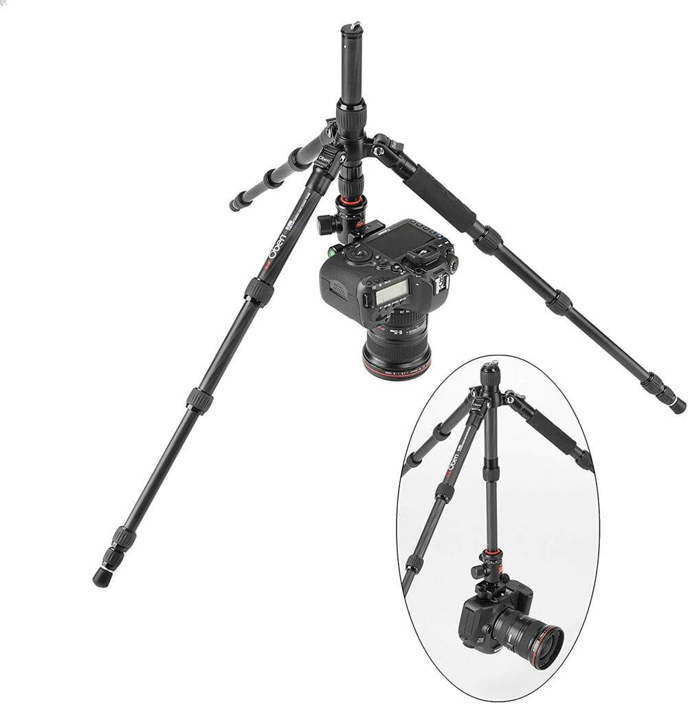 Una cámara montada a sólo 20 cm del suelo en la Oben CT-3535
