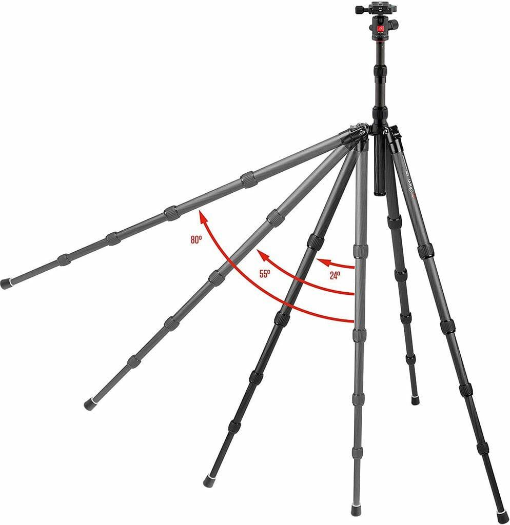 La longitud de la pierna del Oben CT-3535