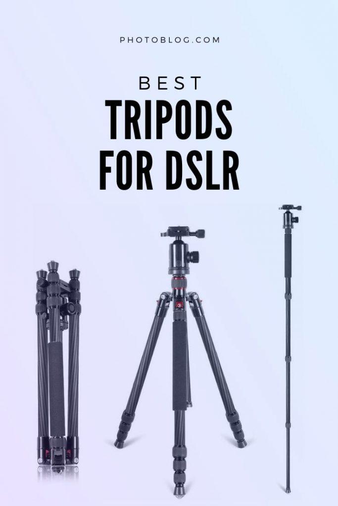 Imagen de interés para el mejor trípode para el artículo de DSLR
