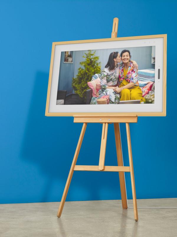 El Smart Frame de Lenovo es el marco de fotos digital del futuro de 21,5 pulgadas y un precio de 399 dólares estadounidenses.
