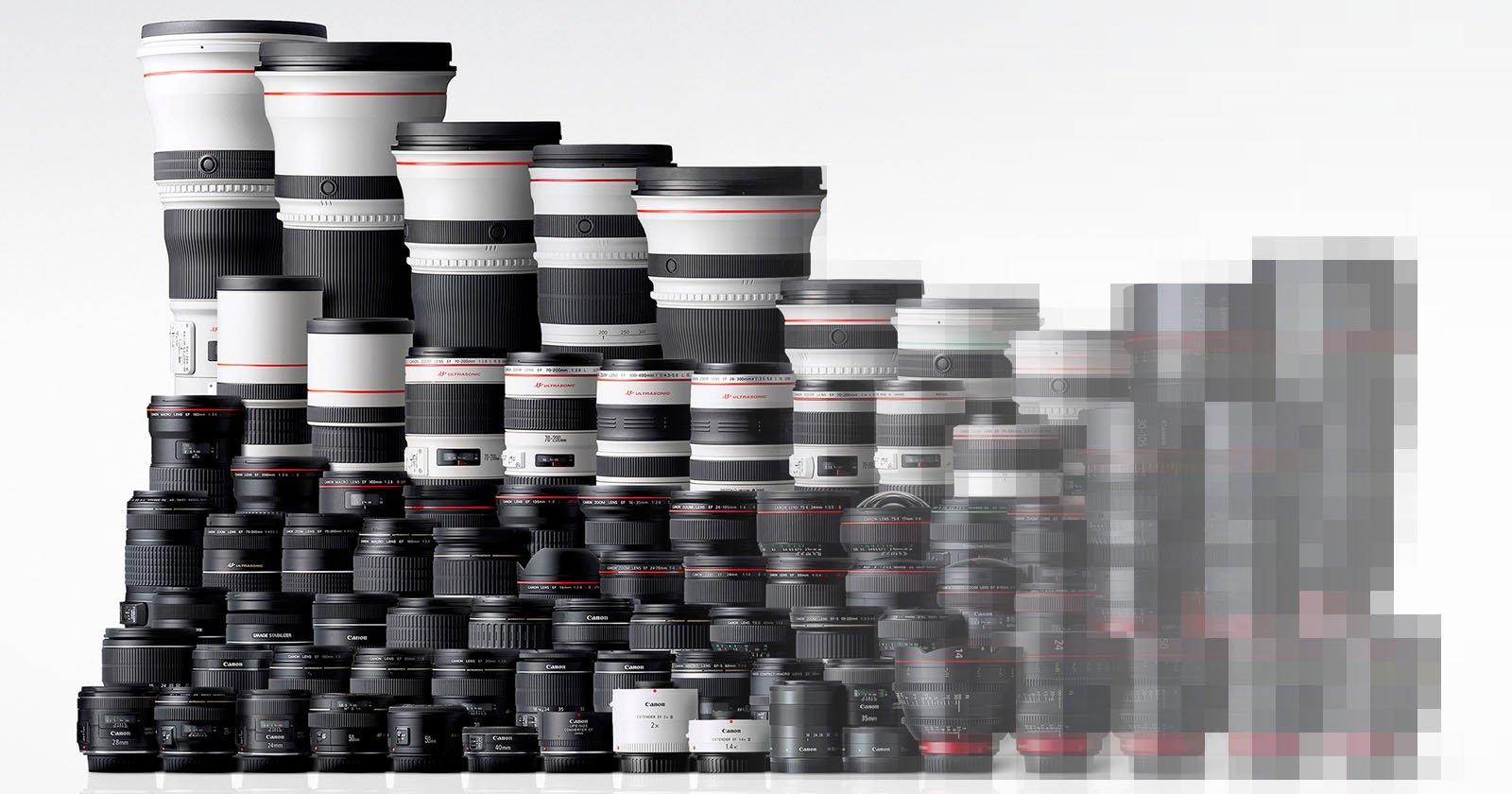 Canon ha terminado de fabricar lentes EF a menos que los fotógrafos exijan más