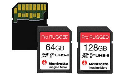 """Manfrotto presenta las tarjetas de memoria Pro Rugged, las """"más duras"""" del mundo"""