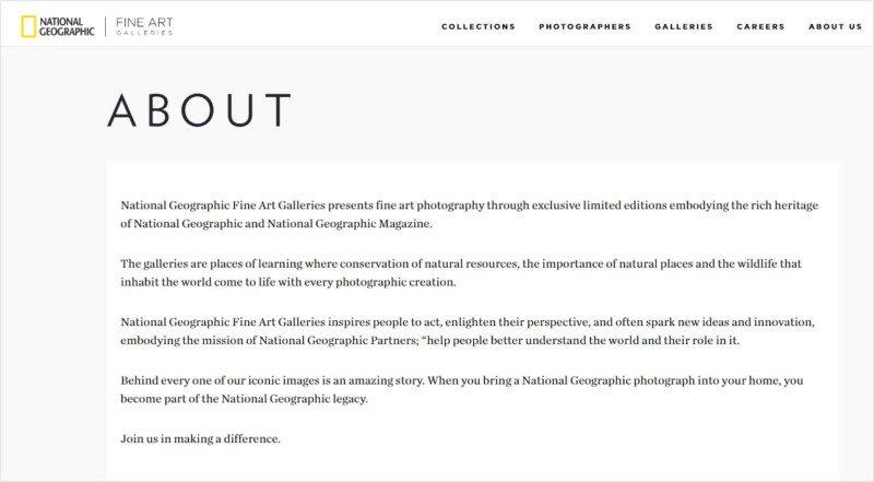 Enriquecimiento injusto, impagos y galerías de arte: Nat Geo Fine Art