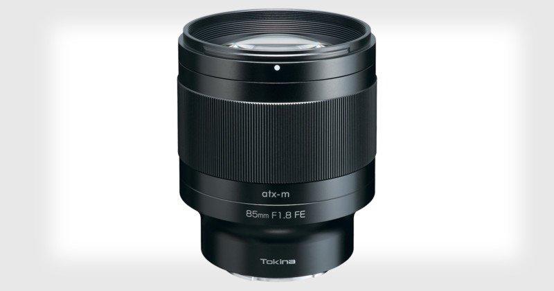 Tokina lanza una nueva línea de lentes sin espejo a partir de 85mm f/1.8 para Sony E-Mount