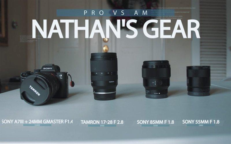 Un fotógrafo profesional y otro aficionado intercambian sus equipos en el Desafío de la fotografía cara a cara