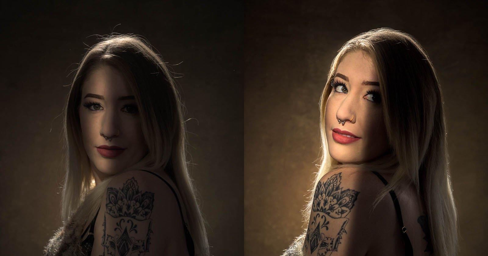 Fotografiar un retrato con luz, sombra y resalte
