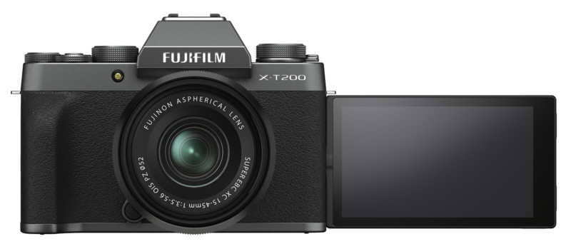 Fujifilm lanza la gama media X-T200 y la asequible lente XC 35mm f/2