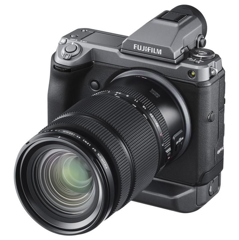 Fuji presenta la lente de formato medio GF 45-100mm f/4, se prueba 80mm f/1.7