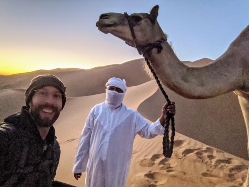 Capturando un retrato del 'Anillo de Fuego' Eclipse en el desierto