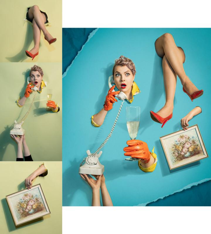 Estas imágenes de antes y después revelan lo que va en mi arte fotográfico