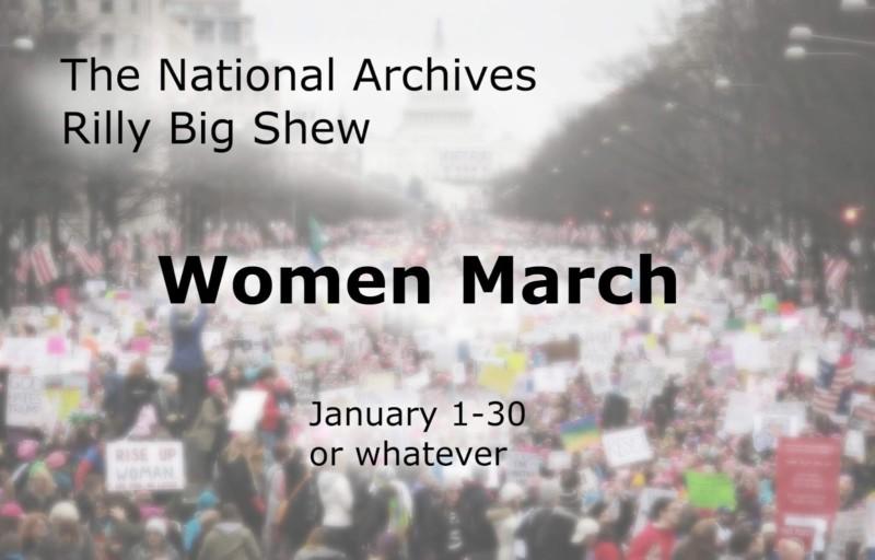 El desastre del Photoshop de la 'Marcha de las Mujeres' de los Archivos Nacionales