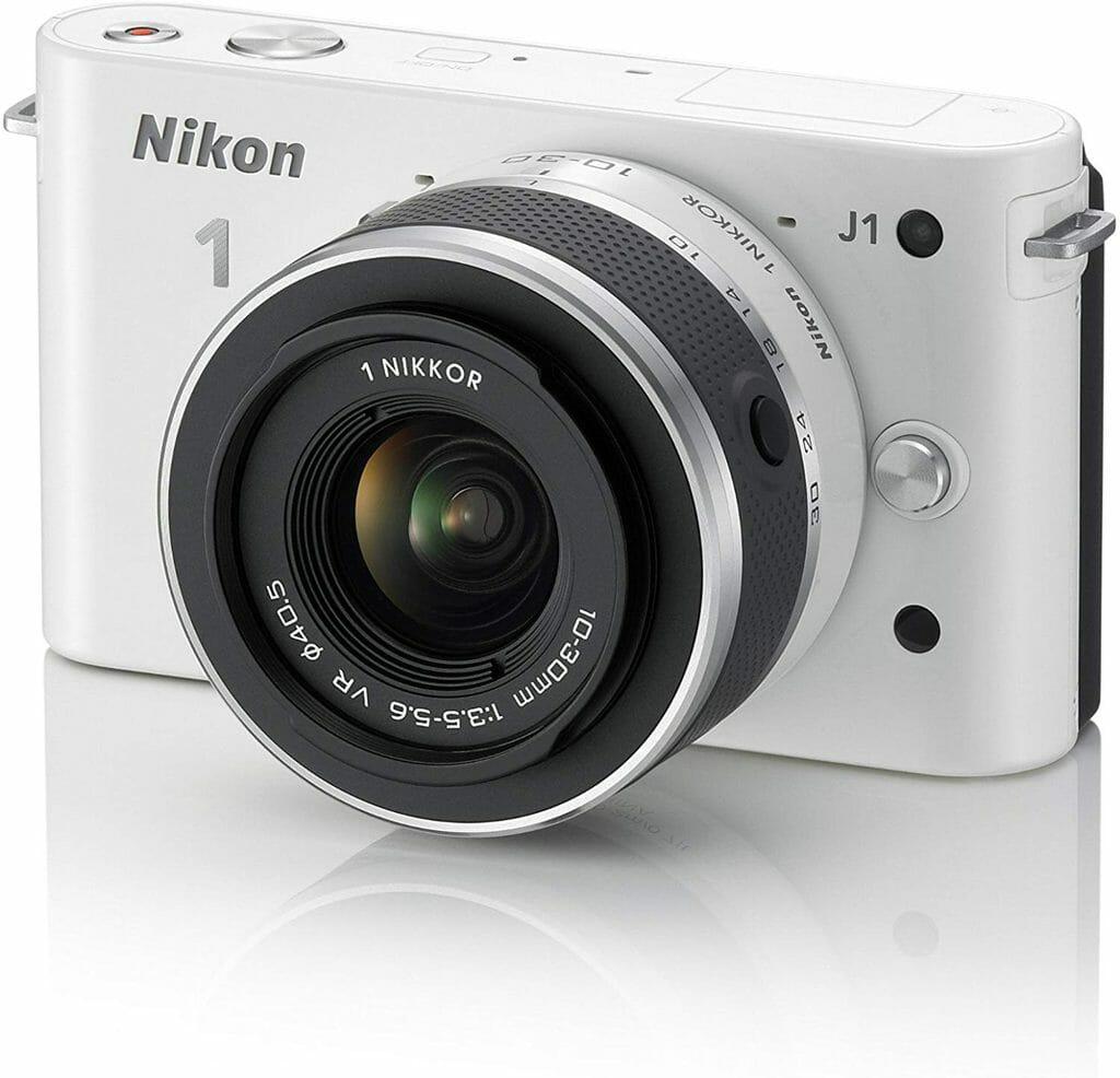 La cámara Nikon J1