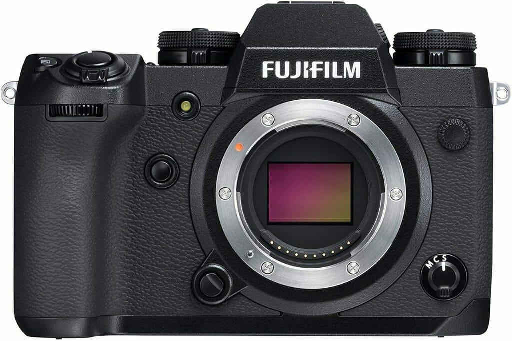 La cámara digital sin espejos Fujifilm X-H1